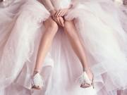 Thời trang - Những mẫu giày mọi cô dâu đều mơ ước trong ngày cưới