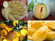 Làm mẹ - 5 loại hoa quả ít độc nhất giúp mẹ yên tâm khi mua