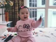 Làng sao - Ngắm nụ cười đáng yêu của con gái Trang Nhung
