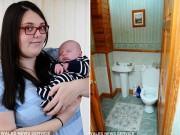 Mẹ sốc nặng khi đẻ rơi con mới biết có thai