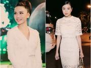 Thời trang - Yến Trang, Hoàng Thùy Linh tinh khôi với sắc trắng