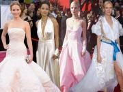 Những kiệt tác và thảm họa thời trang trên thảm đỏ Oscar