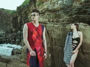 Làng sao - Hồng Quế - Vĩnh Thụy kết đôi lãng mạn ngoài biển