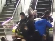 Clip Eva - Thang cuốn bất ngờ đổi chiều khiến 5 người bị thương