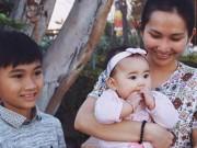 Làng sao - Kim Hiền cùng chồng con đi lễ Phật ở Mỹ