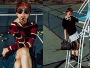 Thời trang - Minh Hằng khoe thời trang cá tính với mái tóc tém