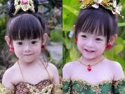 Làm mẹ - Bé gái Thái được hứa hẹn là đại mỹ nhân tương lai