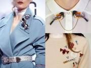 Thời trang - Tăng sức hút cho trang phục nhờ phụ kiện cài áo