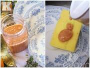 Bếp Eva - Mách chị em cách làm dầu rửa bát bằng nguyên liệu thiên nhiên