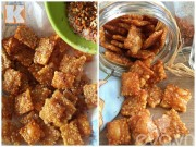 Bếp Eva - Bì heo chiên xóc muối ớt giòn tan như bim bim
