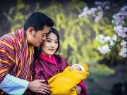 Làm mẹ - Vợ đẹp con xinh của vị vua nước 'hạnh phúc nhất thế giới'