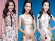Hoàng Oanh gợi ý cách mặc váy hoa thật xinh