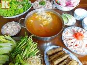 Bếp Eva - Lẩu cua đồng thơm ngon, nóng bỏng lưỡi