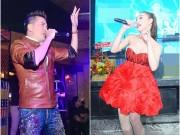 Làng sao - Lâm Chi Khanh gợi cảm bên Mr Đàm trong đêm nhạc