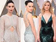 Mãn nhãn với váy đầm lộng lẫy của mỹ nhân Oscar