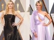 Thời trang - Kate Winslet, Heidi Klum bị chê tả tơi tại Oscar 2016