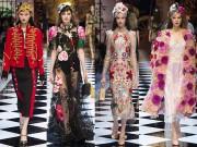 Thời trang - Rộn ràng trong khu vườn cổ tích của Dolce&Gabbana