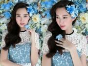 Thời trang - Thu Thảo mong manh đầy mê hoặc với váy hoa lan