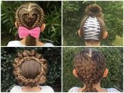 Làm mẹ - Mê mẩn hàng trăm kiểu tóc đẹp mẹ làm cho con gái