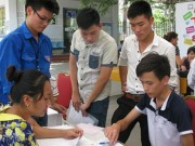 Thay đổi lớn trong xét tuyển vào ĐH-CĐ năm 2016