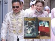 Lộ thiệp cưới đậm chất điện ảnh của Victor Vũ - Đinh Ngọc Diệp