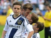 Làm mẹ - Nể nhà Beckham cách dạy con trai bản lĩnh, ga-lăng từ bé