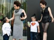Thời trang - Tín đồ thời trang Việt khoe con trong ảnh street style