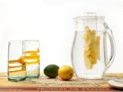 Muôn kiểu bình detox để đựng nước thải độc, giảm cân