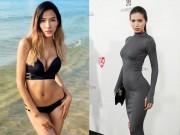 Làm đẹp - Chế độ ăn giúp hai siêu mẫu Việt gợi cảm