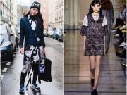 Thùy Trang bị chê béo ở kinh đô thời trang Paris