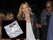 Xe cũ của siêu mẫu Kate Moss có chất bột trắng
