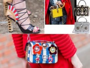 """Thời trang - Xu hướng giày và túi xách """"nóng bỏng tay"""" tại Milan FW"""