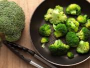Sức khỏe - Bông cải xanh giúp ngừa ung thư gan