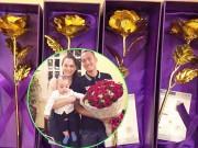 Làng sao - 8/3: Ngọc Thạch nhận hoa hồng vàng, Bình Minh tặng vợ bánh kem