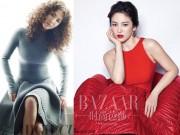 Thời trang - Song Hye Kyo tự tin trên tạp chí dù chiều cao trung bình