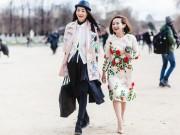 """Thời trang - Loạt fashionista Việt """"hút"""" ống kính nhiếp ảnh Paris"""