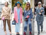Thời trang - Mặc pyjama thời thượng và sành điệu dạo phố