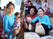 Làng sao - Việt Hương đẹp dịu dàng khi mặc áo bà ba