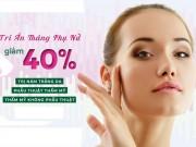 Làm đẹp mỗi ngày - Giảm 40% dịch vụ thẩm mỹ: Cơ hội vàng cho nàng làm đẹp!