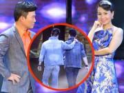 """Làng sao - Cẩm Ly, Quang Linh tranh cãi về tình """"3D"""" của 2 thí sinh nam"""
