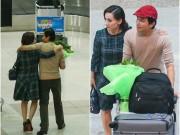 Làng sao - Phi Nhung khoác vai Mạnh Quỳnh lúc 2h sáng ở sân bay
