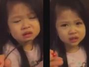 Clip Eva - Em bé vừa khóc vừa xin lỗi mẹ cực đáng yêu