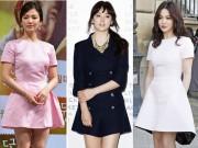 """Thời trang - Biệt tài """"ăn gian chiều cao"""" của chân ngắn Song Hye Kyo"""