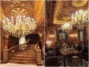 """Soi nội thất """"đế vương"""" trong lâu đài đại gia phế liệu Thanh Hóa"""