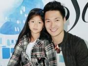 Làng sao - Mạnh Trường đưa con gái đi casting người mẫu nhí