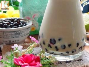 Tự làm trà sữa trân châu để lâu không cứng