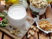 Bếp Eva - Sữa đậu phộng thơm ngon, giữ dáng