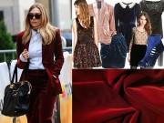 Thời trang - Chọn mua vải may đồ sành điệu đúng xu hướng quốc tế