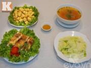 Bếp Eva - Bữa cơm chỉ 85.000 đồng đơn giản mà ngon