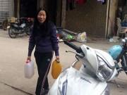 Người dân tập thể Thành Công có nước sạch trở lại